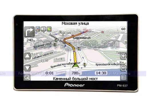 GPS навигаторы - GPS навигатор PIONEER PM-937 5*