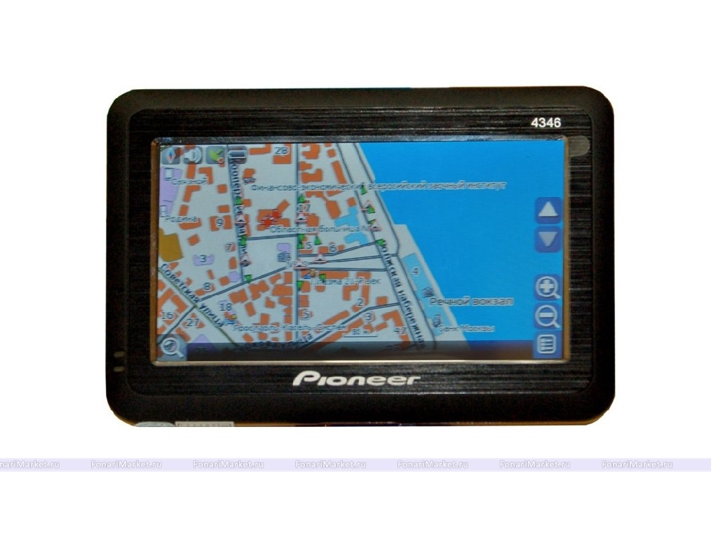 GPS навигаторы - GPS навигатор PIONEER PM-4346 4,3*