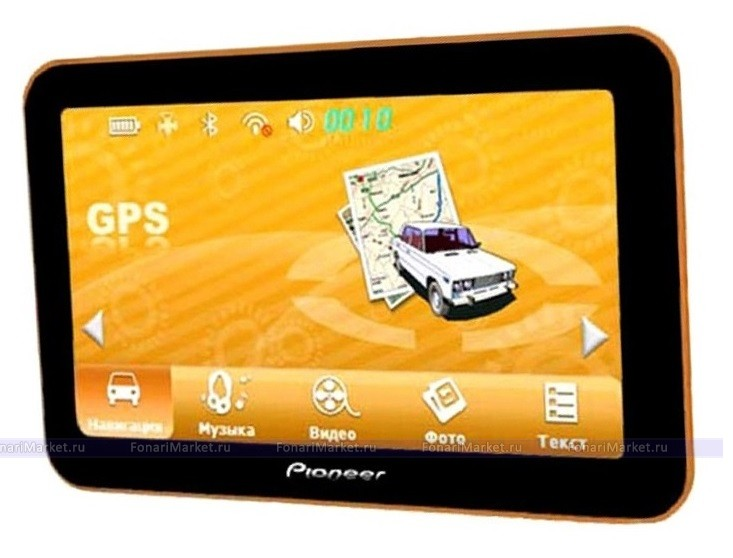 GPS навигаторы - GPS навигатор PIONEER PM-717 7*