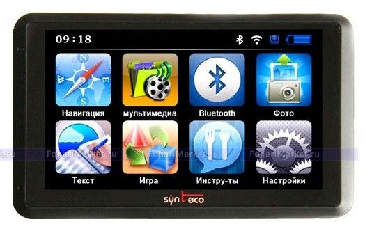 GPS навигаторы - GPS навигатор PIONEER PM-722 7*