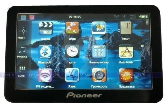 GPS навигаторы - GPS навигатор PIONEER PM-888 7*