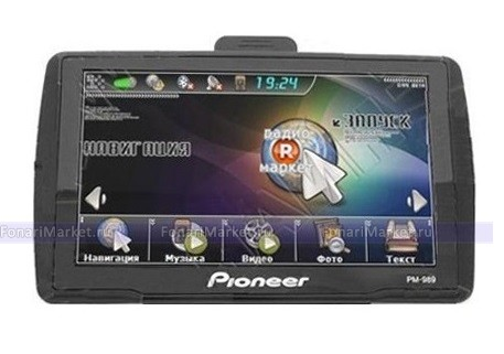 GPS навигаторы - GPS навигатор PIONEER PM-989 5*