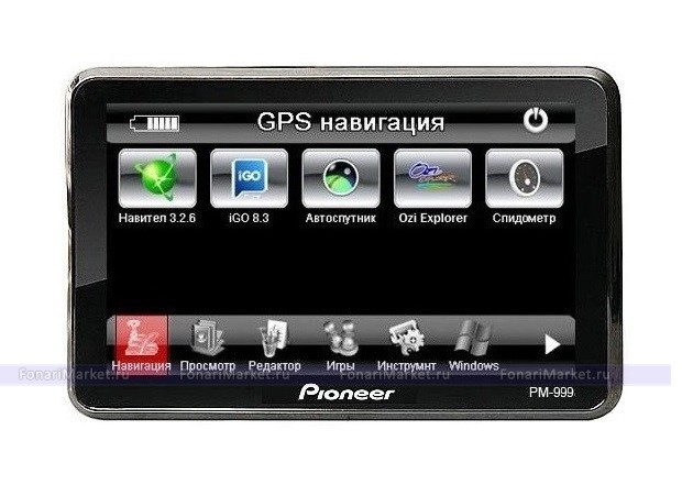 GPS навигаторы - GPS навигатор PIONEER PM-999 5*