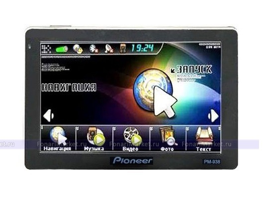 GPS навигаторы - GPS навигатор PIONEER PM-938 5*