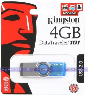 USB флешки - USB Flash Kingston 4GB