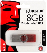 Флешки USB - USB Flash Kingston 8GB