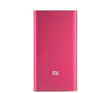 Power Bank - Внешний аккумулятор Power Bank Xiaomi Mi SLIM 5000 mAh pink