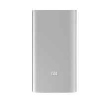 Power Bank - Внешний аккумулятор Power Bank Xiaomi Mi SLIM 5000 mAh silver