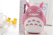Power Bank - Внешний аккумулятор Power Bank Totoro 12000 mAh 3D pink