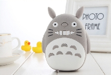 Power Bank - Внешний аккумулятор Power Bank Totoro 12000 mAh 3D gray