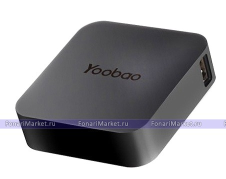 Power Bank - Внешний аккумулятор Yoobao Magic Cube 7800 mAh black