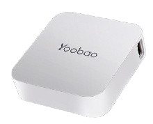 Power Bank - Внешний аккумулятор Yoobao Magic Cube 7800 mAh white