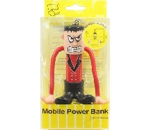Power Bank - Внешний аккумулятор Power Bank Bendy World 2000 mAh red