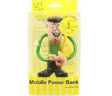 Power Bank - Внешний аккумулятор Power Bank Bendy World 2000 mAh green