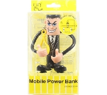 Power Bank - Внешний аккумулятор Power Bank Bendy World 2000 mAh black