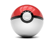 Power Bank - Внешний аккумулятор PokeBall Pokemon Go 3D Led 12000 mAh