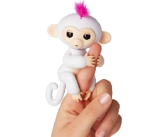 Детские товары оптом - WowWee Fingerlings Monkey Интерактивная обезьянка - Белая