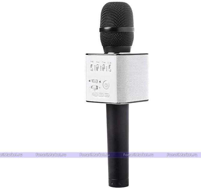 Караоке микрофоны - Караоке микрофон Tuxun Q9 Чёрный