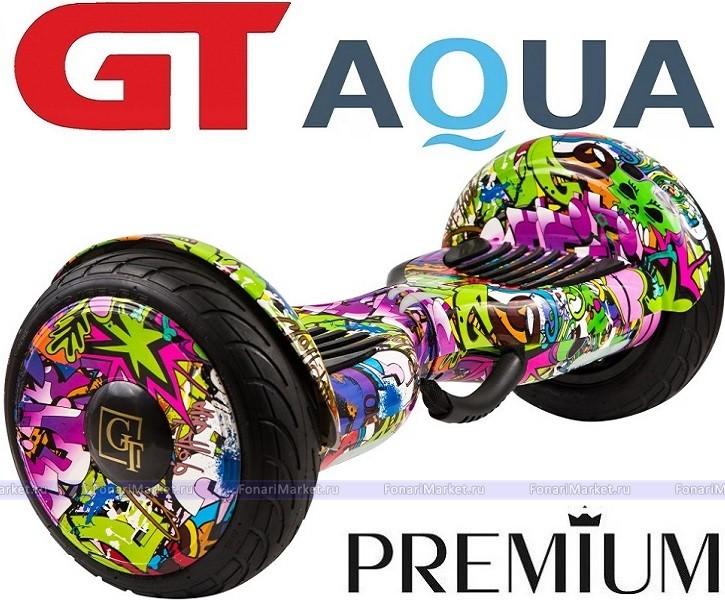 Гироскутер Smart Balance GT AQUA Самобаланс +APP Джунгли 10.5 дюймов