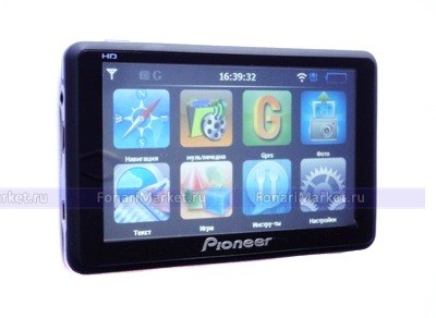 GPS навигаторы - GPS навигатор PIONEER PM-755 7*