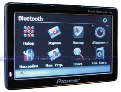 GPS навигаторы - GPS навигатор PIONEER PM-751 7*
