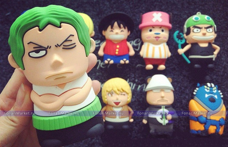 Power Bank - Внешний аккумулятор Power Bank One Piece 8800 mAh Zoro