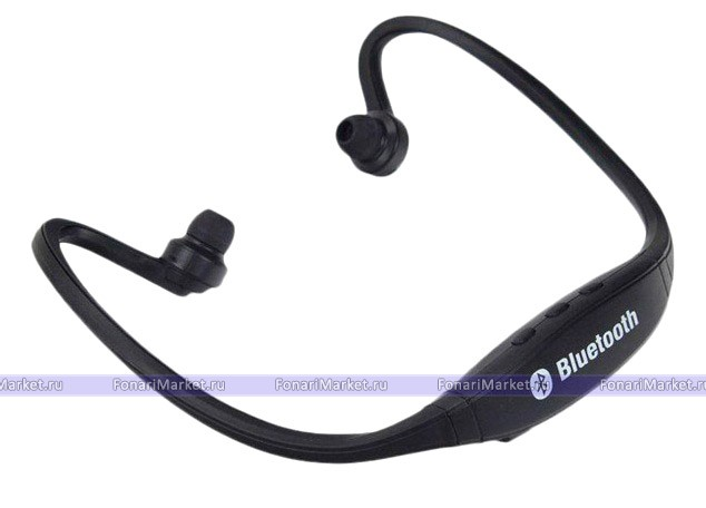беспроводные Bluetooth наушники Sportbeats Bs19c чёрные