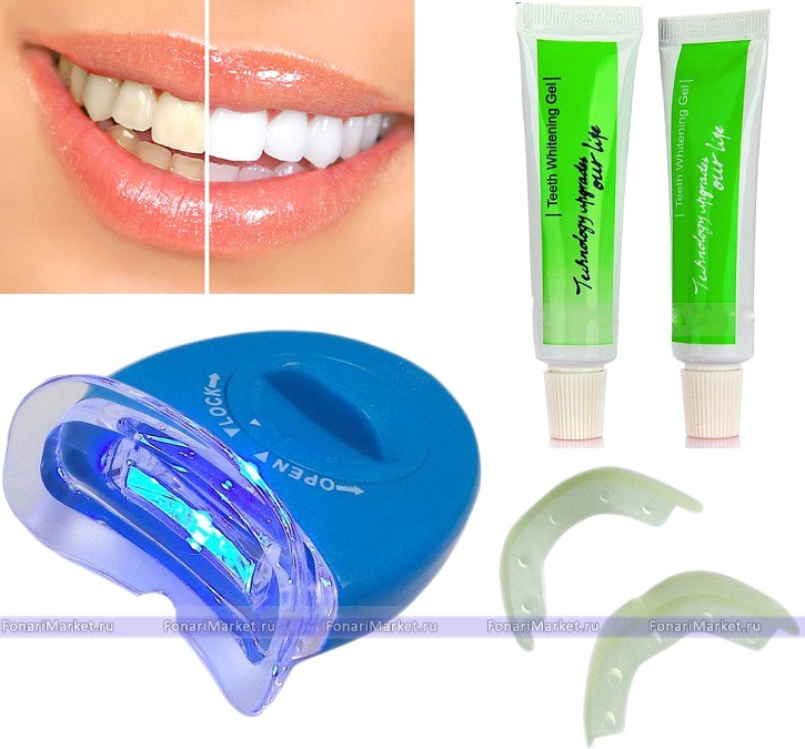 система отбеливания зубов в домашних условиях