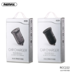 Car Charger - REMAX Alloy Series car charger 4.8A RCC222