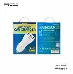 Car Charger - NEW! Proda Yuss car charger 3USB PD-C02