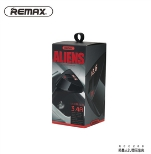 Car Charger - Remax Alien Series 2USB Car Charger With Voltage Display RCC-208